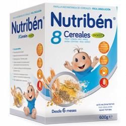 Nutriben 8 Cereales Efecto Bifidus 600g