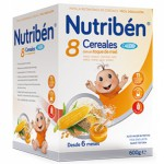 Nutriben 8 Cereales Miel Calcio 600g