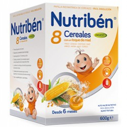 Nutriben 8 Cereales Miel Digest 600g