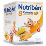 Nutriben 8 Cereales Miel Galletas Maria 600g