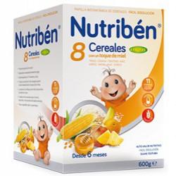 Nutriben 8 Cereales Miel 4 Frutas 600g