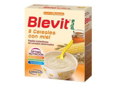 Blevit Plus 8 Cereales Miel 600g