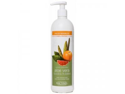 Bactinel Leche Corporal Aloe y Ácidos Frutales 400ml