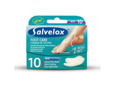 Salvelox Foot Care Mix 10 Unidades