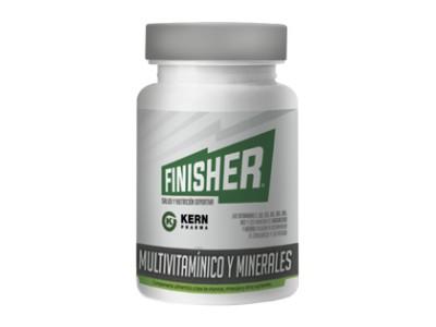 Kern Finisher Multivitaminas y Minerales 60 cápsulas