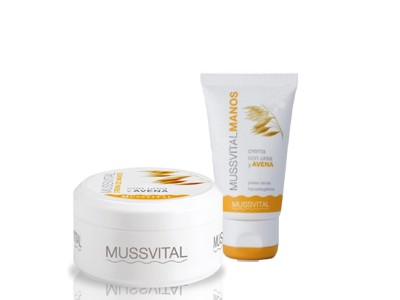 Mussvital Crema Manos Avena 200ml + 50ml