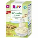 Hipp Papilla 3 Cereales Sin Gluten 400g