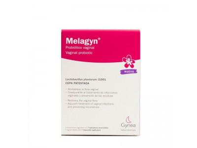 Melagyn Probiótico Vaginal 7 Comp. Con Aplicaciones Desechables