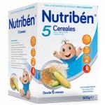 Nutriben 5 Cereales 600g