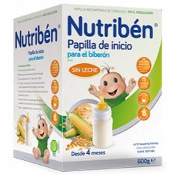 Nutriben Inicio Biberón Papilla Sin Gluten 600g