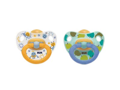 Nuk Happy Kids Chupete Látex 18-36 meses 2 uds