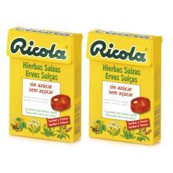 Ricola Pack Caramelos Hierbas Suizas 2 Unidades 50g