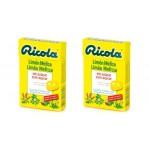 Ricola Pack Caramelos Limon Melisa 2 Unidades 50g