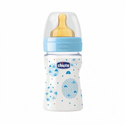 Chicco Biberón Látex Flujo Normal +0 meses 150ml