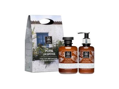 Apivita Pack Pure Jasmine Gel Baño 300ml+Leche Corporal 200ml
