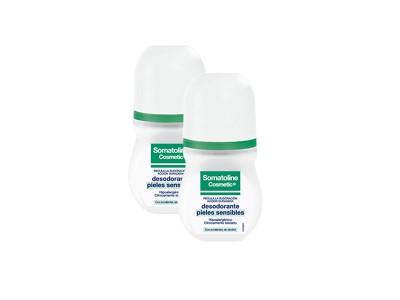 Somatoline Desodorante Roll-On Pieles Sensibles 50ml 2 uds.