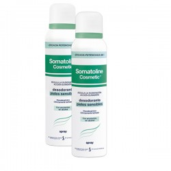Somatoline Desodorante Pieles Sensibles Spray 150ml 2 uds.