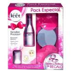 Veet Pack Especial Sensitive Recortador Eléctrico + 7 Accesorios + Espejo
