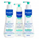 Mustela Pack Stelatopia 2 uds. Crema Emoliente 300ml+ Gel Lavante 200ml