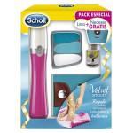 Scholl Pack Especial Velvet Smooth Lima Electrónica + Neceser + Aceite Para Uñas