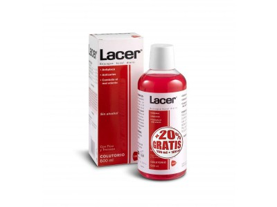 Colutorio Lacer Sin Alcohol 500ml+100ml