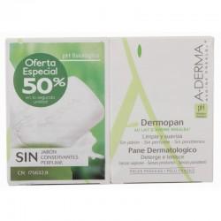 Aderma Pack Duo Pastilla Dermopan Sin Jabon 100g