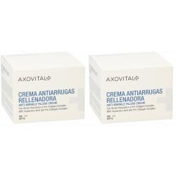 Axovital Pack Duplo Crema Dia Antiarrugas SPF15 50ml
