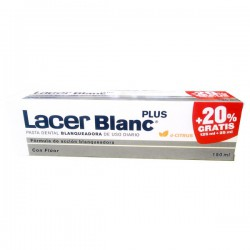 Lacer Blanc Plus Pasta Dental Blanqueadora Dcitrus 125ml + 25ml