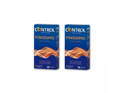 Control Finissimo Mega Ahorro Preservativos 12 + 12 Und