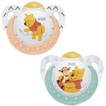 Nuk Chupete Winnie the Pooh Silicona 0-6 meses 2 uds