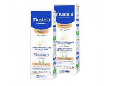 Mustela Crema Nutritiva Cold Cream 40ml+40ml