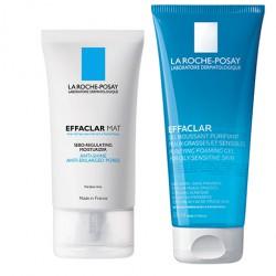 La Roche Posay Pack Effaclar Mat 40 ml + Effaclar Gel Purificante 200 ml
