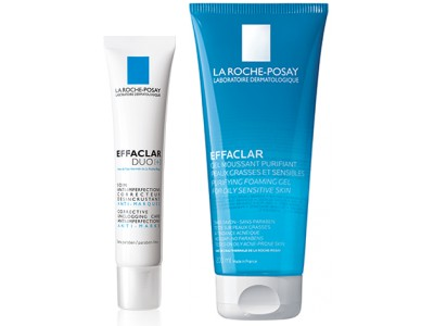 La Roche Posay Pack Effaclar Duo 40 ml + Effaclar Gel Purificante 200 ml