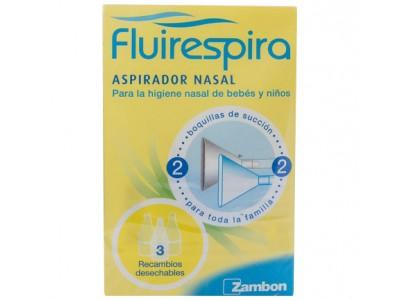 Fluirespira Aspirador Nasal + 3 Recambios