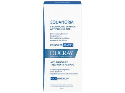 Ducray Squanorm Champú Anticaspa Grasa 200ml