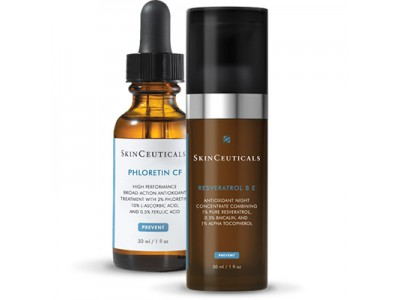 Skinceuticals Cofre Phloretin Cf 30ml + Resveratrol 30ml
