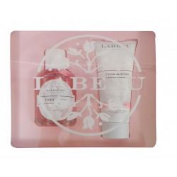 Labeau Cofre Fragancia Rosa 100 ml + Leche Corporal 100 ml