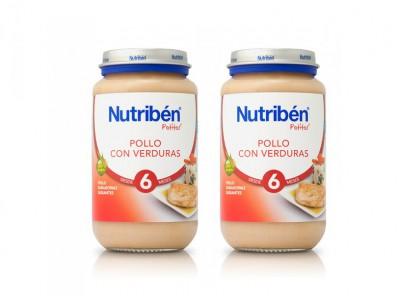 Nutriben Pack Potitos Pollo Con Verduras 2x250gr