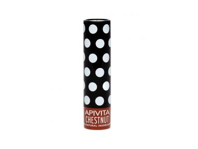 Apivita Lip Care Castaña Hidratación y Color 4,4g