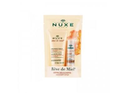 Nuxe Cofre Réve de Miel Crema Manos 30 ml + Stick Labial