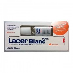 Lacer Pasta Dental Blanc Plus D-Citrus 125 ml + Colutorio Gratis 100 ml