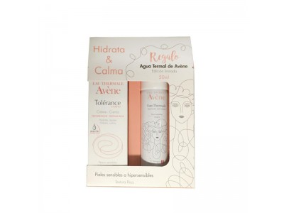 Avene Crema Tolerance Rica + regalo Agua Termal 50 ml