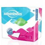 Sabanindas Extra 60x90 25 uds.