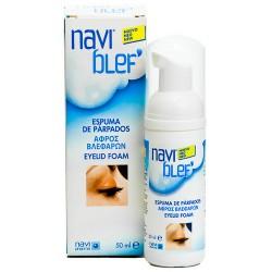 Naviblef Espuma Limpiadora Párpados 50ml