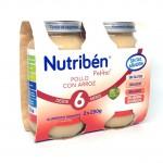 Nutriben Pack Potito Pollo Con Arroz 2 x 250gr