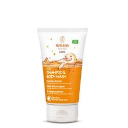 Weleda Kids Shampoo & Body Wash Naranja Frutal 150ml