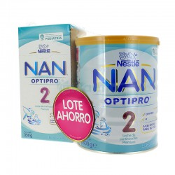 Nestlé Nan2 Optipro Lote Ahorro 800G+350G