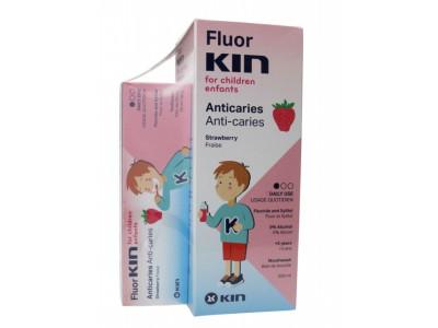 Kin Pack Flúor -Kin Infantil Enjuaje 500ml + Pasta Dentifrica 50ml