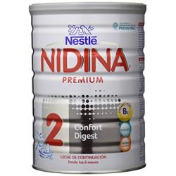 Nidina Premium 2 Confort Digest Leche Lactantes 800gr
