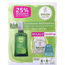 Weleda Pack 2 Aceite Anticelulítico Abedul 100ml+ Celulicup
